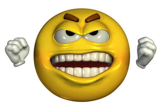 frustration emoji