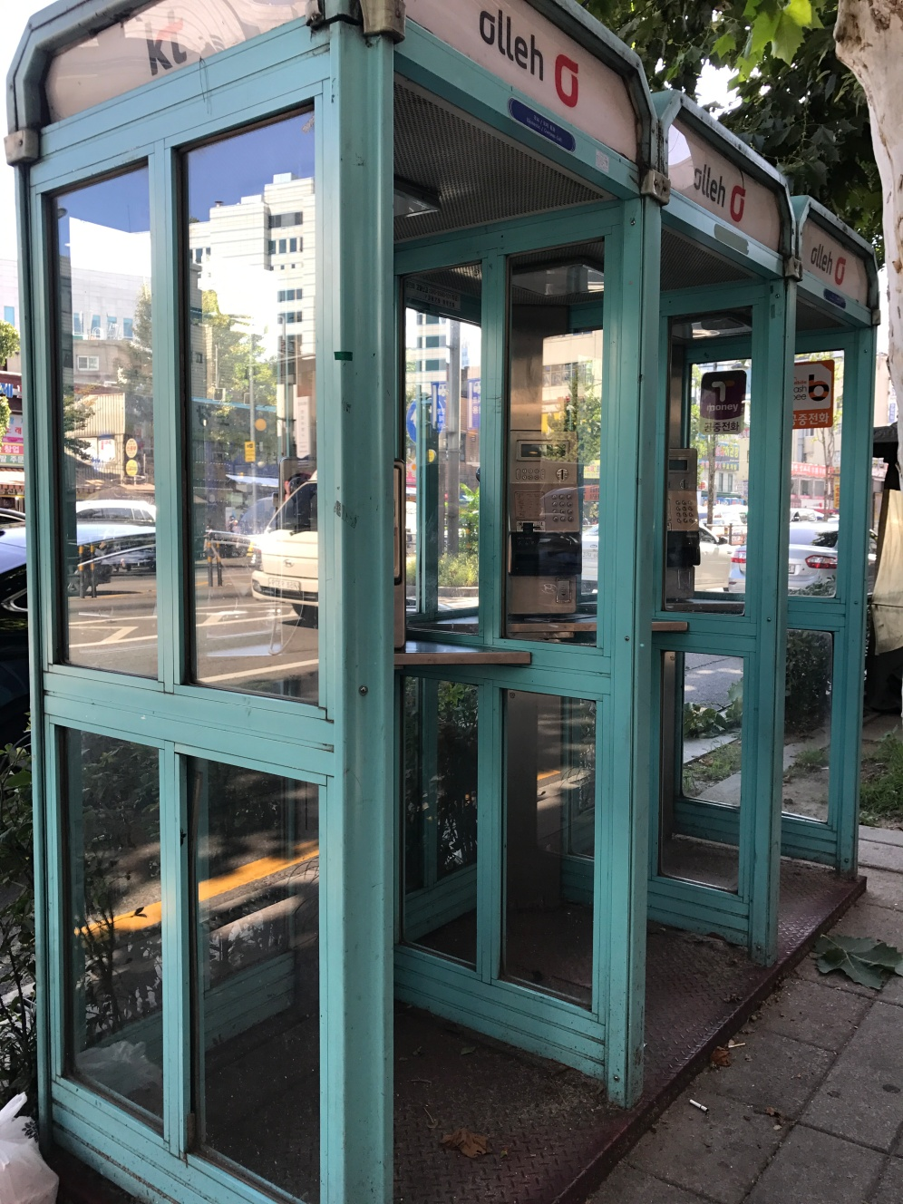 Telephone booths, its been a while since I have seen these